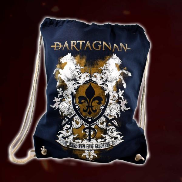 dArtagnan Rucksack »Ehre wem Ehre gebühret« Blau