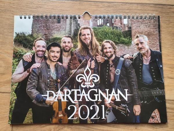 dArtagnan Kalender 2021 DINA4