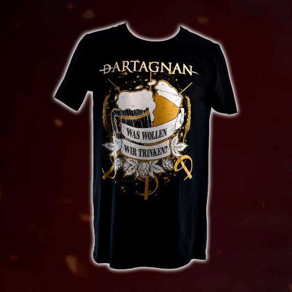 dArtagnan T-Shirt Was sollen wir trinken?