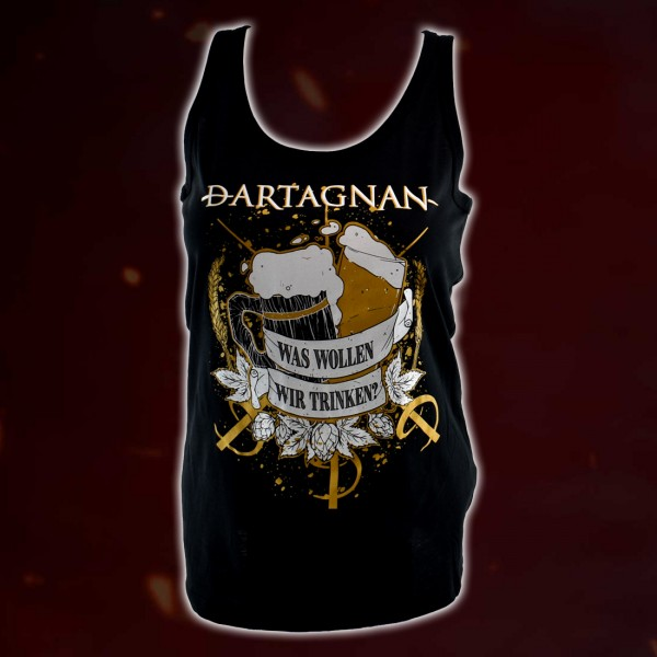 dArtagnan Girl Tank Top Was sollen wir trinken?