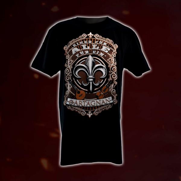 dArtagnan T-Shirt Alle für ein´
