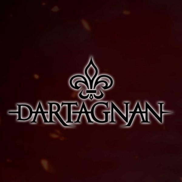dArtagnan Autoaußenaufkleber schwarz